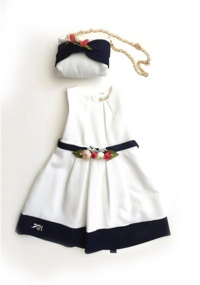 Σαν Ρέμο φόρεμα με τσάντα